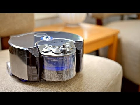 Dyson 360 Eye Review || I DIDN'T KNOW IT COULD DO THIS!