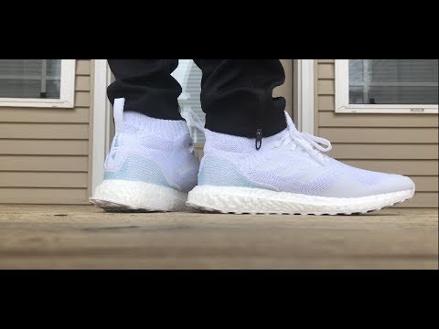 ba09f62362a Adidas x Parley Ultraboost Mid ON FOOT LOOK! - YouTube