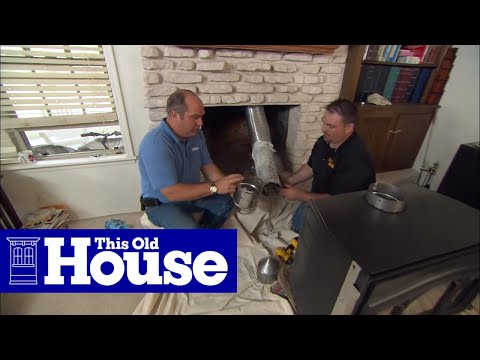How To Install A Wood Burning Fireplace Insert This Old