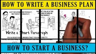 write a one page business plan