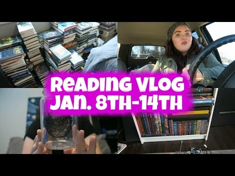 Welcome to 2018!   Reading Vlog #5   VLOGUARY DAY 7