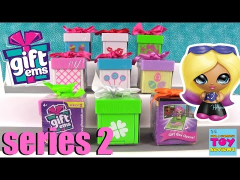 Gift Ems Series 2 Surprise Presents Blind Bag Opening | PSToyReviews
