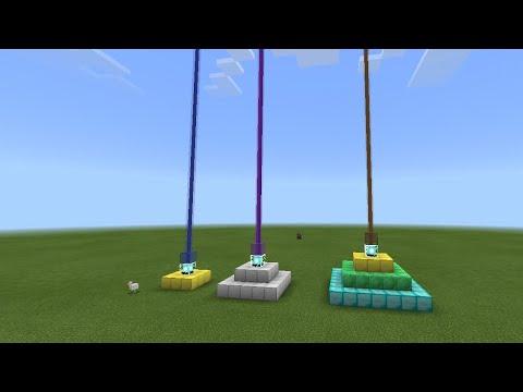 Как создать маяк в Майнкрафте пе (видео для новичков)!!!!!!:):)
