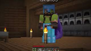 Iskall pranks Grian for the Tag **HILARIOUS**   Hermitcraft 7