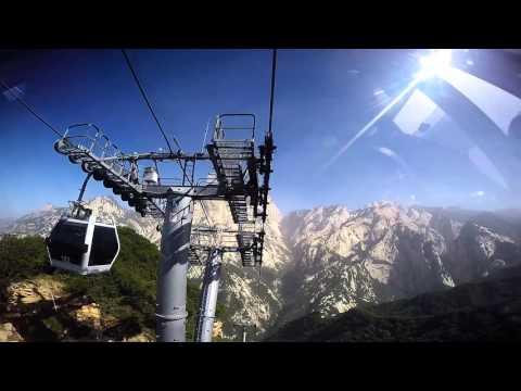 Mount Huashan Cablecar