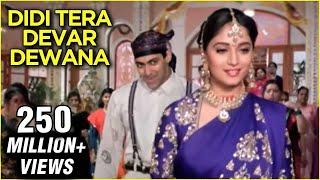 Download Didi Tera Devar Deewana - Hum Aapke Hain Koun - Lata Mangeshkar & S. P. Balasubramaniam's Hit Song Mp3 and Videos