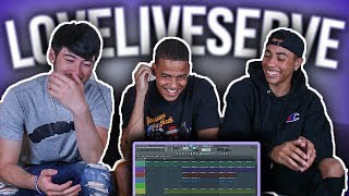 LoveLiveServe Tries Making A Beat From Scratch!!! | Making A Beat From Scratch | Sharpe