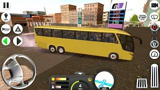 Coach Bus Simulator - Driving to Hungary - Android Gameplay FHD