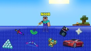 Minecraft: NOOB vs PRO vs HACKER vs GOD : WHAT WILL FIND METAL DETECTOR ON THE SEABED / Animation