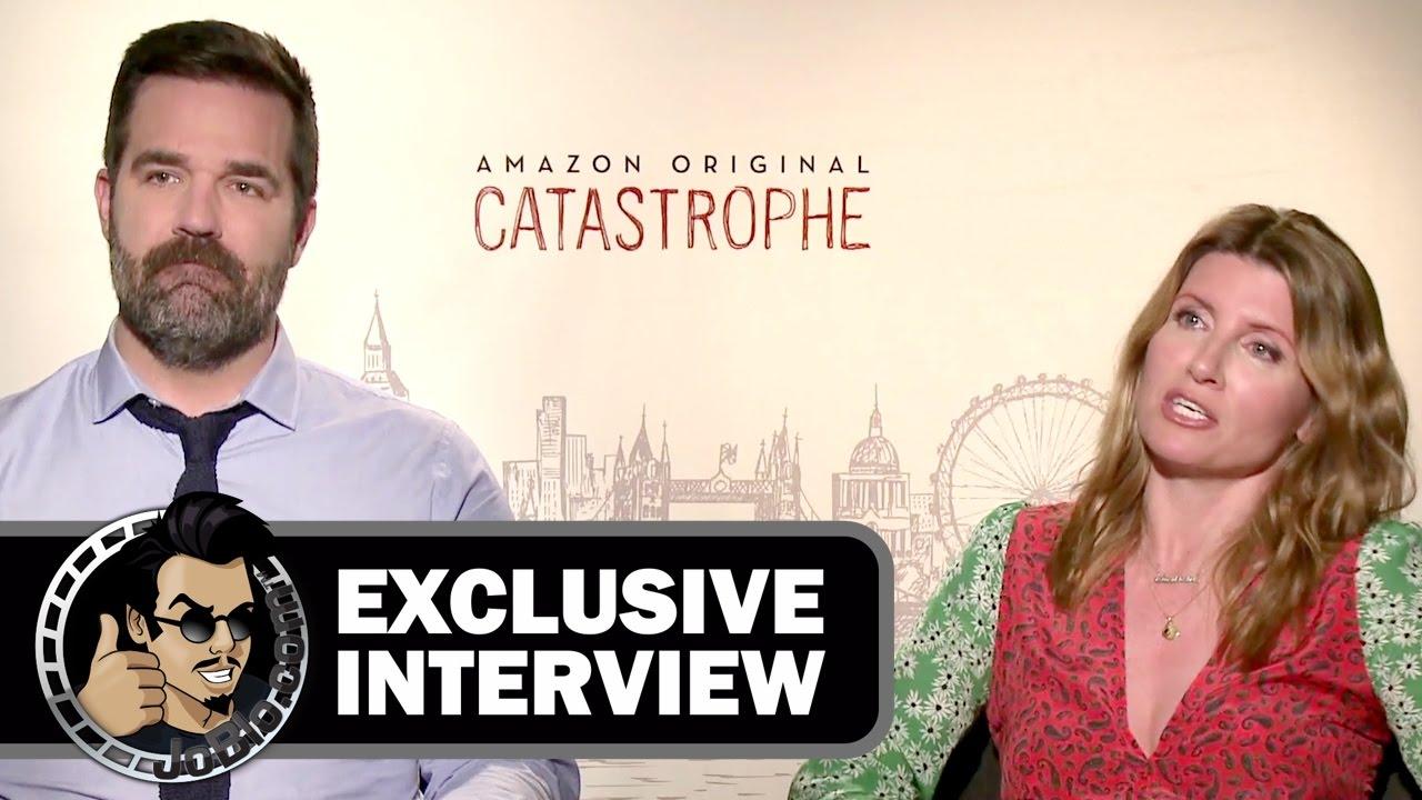 rob delaney sharon horgan exclusive catastrophe interview joblo