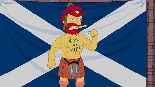 The Simpsons - Willie's Views On Scottish Independence