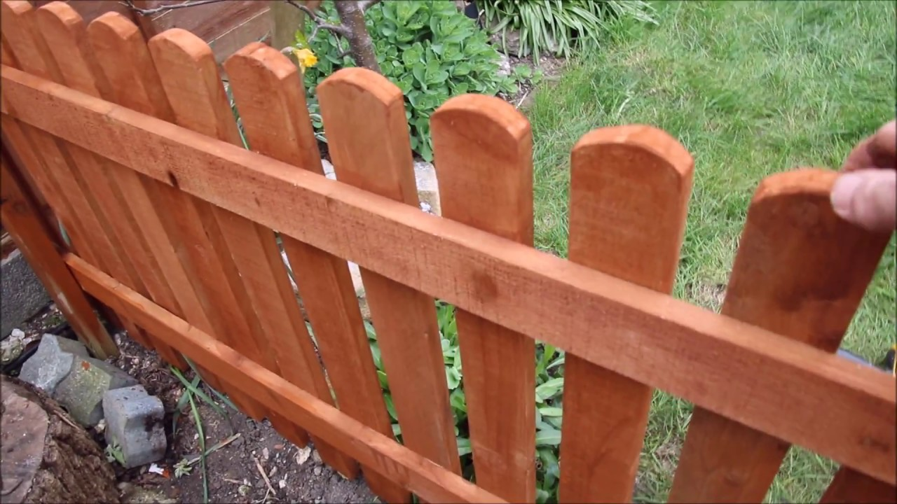 How To Build A Garden Fence D I Y.
