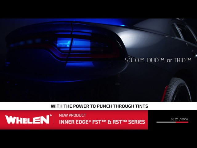 Whelen Inner Edge® FST™ and RST™ Series - Short Shot