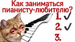 Как пианисту-любителю выстроить уроки игры на фортепиано?