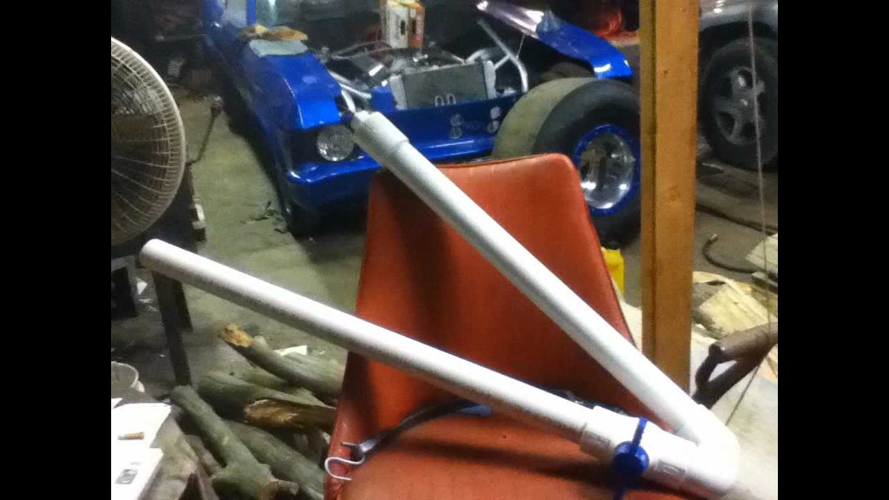 how to build a potato gun with compressed air