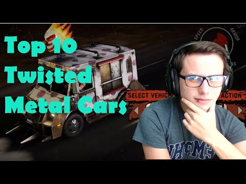 Top 10 Twisted Metal Cars