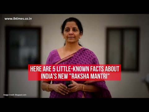 Nirmala Sitharaman: 5 little-known facts about India's new Defence Minister
