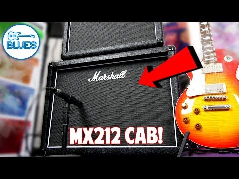 Marshall MX212 2x12 Speaker Cabinet Review (150 Watts)