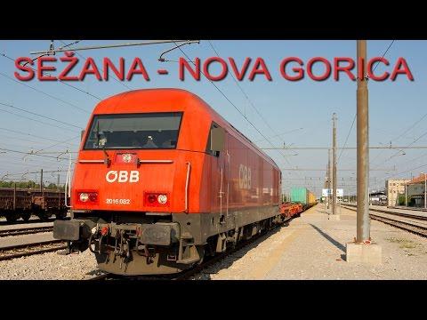 Cab ride (Führerstandsmitfahrt) Sežana - Nova Gorica