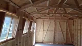 Building A New Timber Garage By Dsbuildings