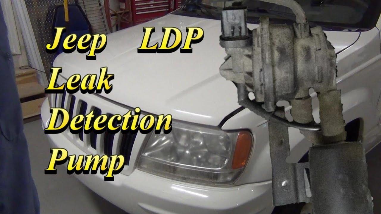 Jeep Dodge Leak Detection Pump P01494 P0441 Youtube 2005 Liberty Fuel Filter Location