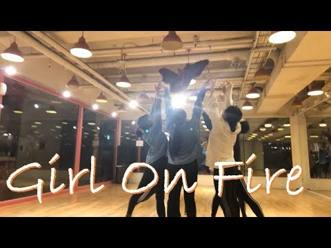 [Contemporary Lyrical Jazz] Girl On Fire - Fleure East. Choreography. JIN