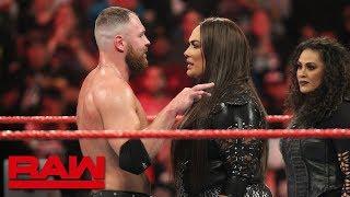 دين امبروز يواجه المصارعة نيا جاكس : هل يفكر اتحاد WWE بإقامة مباراة مختلطة ؟ - في الحلبة