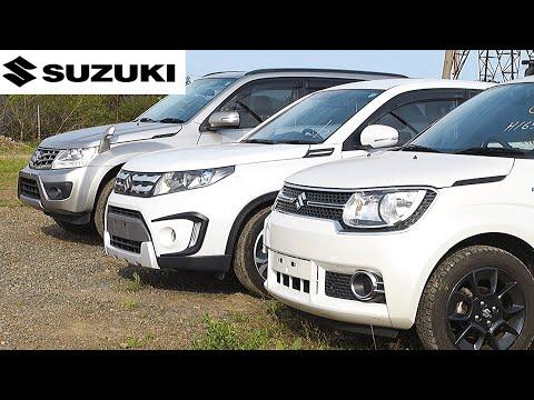 Какие Suzuki сейчас возят из Японии ? Кросовер, Джип, Хэтчбек