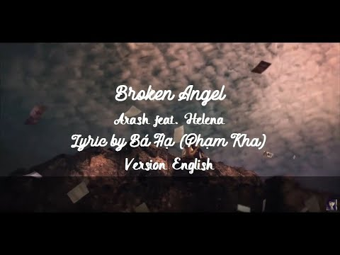 Broken Angel  Arash feat Helena Lyrics Karaoke English Version + CC