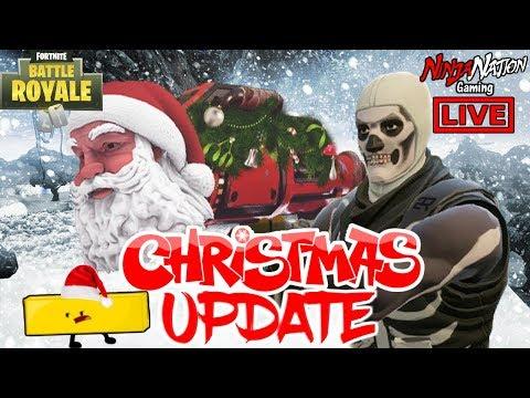 DECK THE HALLS WITH SANTAS BALLZ !!! NEW CHRISTMAS UPDATE  !!! | FortNite Battle Royale ☯