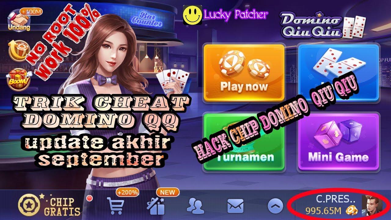 Hack Chip Domino Qiu Qiu No Root Terbaru September 2018 Youtube