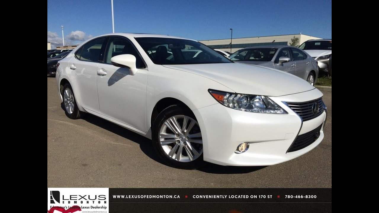 Lexus Certified Pre Owned White 2013 Es 350 Navigation