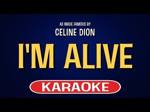 I'm Alive (Karaoke Version) - Celine Dion | TracksPlanet