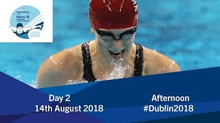 Day 2 Evening 2018 World Para Swimming Allianz European Championships