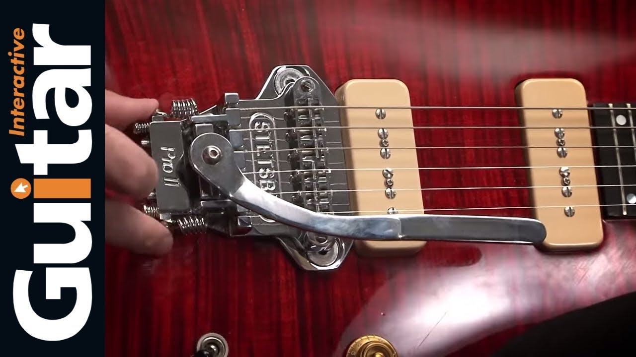 Stetsbar Tremolo System Review Youtube