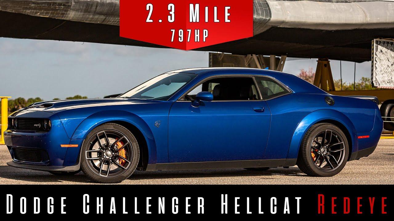 2019 Dodge Challenger Hellcat Redeye   Top Speed Test