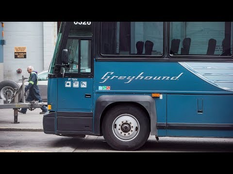 Last Day For Greyhound Bus Service In Western Canada