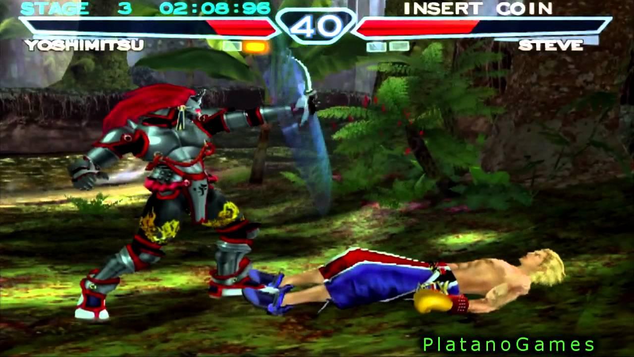Tekken 4 Console Edition Yoshimitsu King Ii Arcade Mode