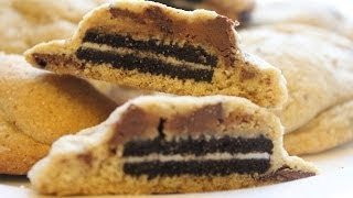 HOW TO MAKE OREO STUFFED CHOCOLATE CHIP COOKIES
