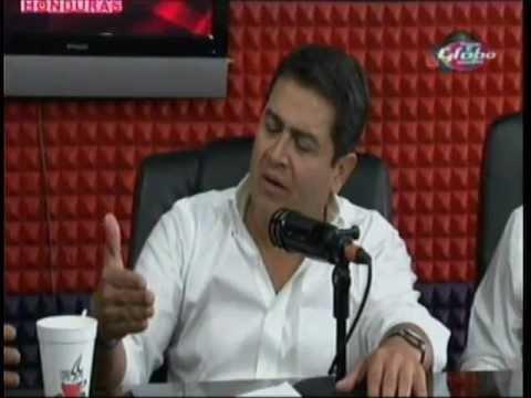 Debate con Juan Orlando Hernández y Manuel Zelaya Radio Globo 30 10 2012