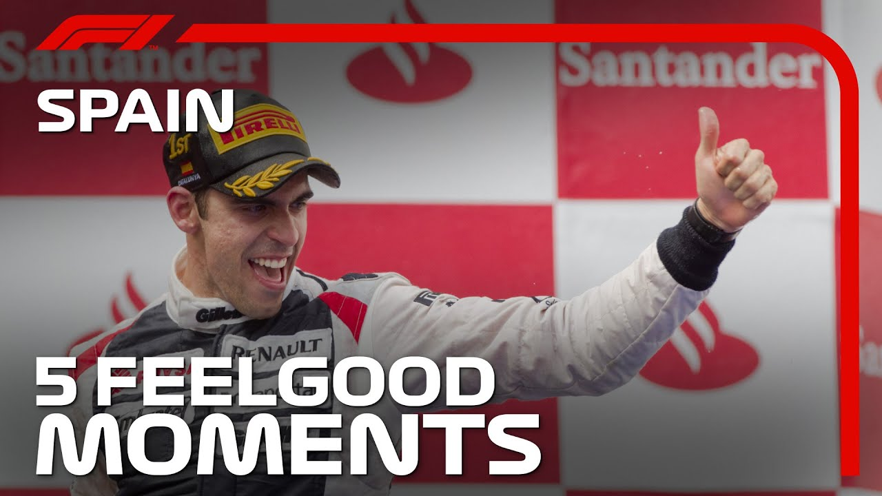 5 Feelgood Moments in Spain | Spanish Grand Prix