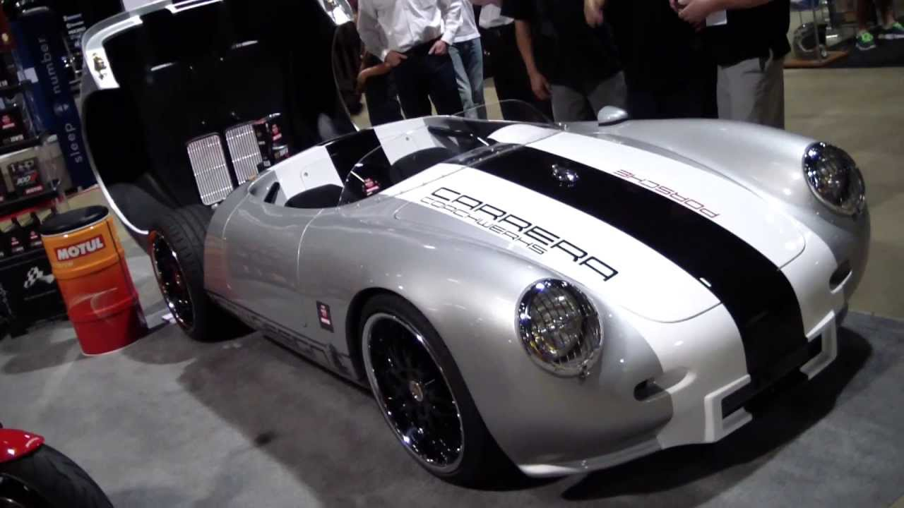 Carrera Coachwerks Porsche 550 Kit Car Youtube