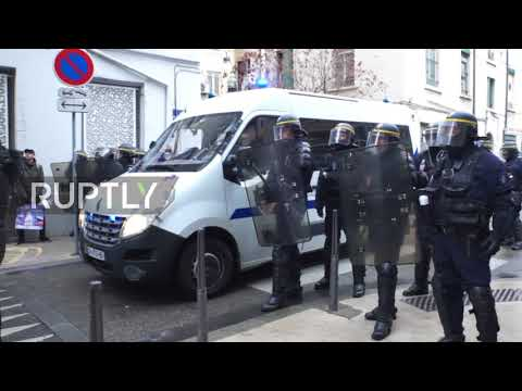 France: International Antifa gathering takes place in Lyon