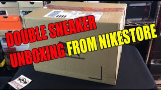 Excited To Sad In Minutes: Nikestore Double Sneaker Unboxing
