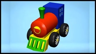 Build And Play: 3d Steam Train App Demo Puzzles Review Demo (kids Educational Ipad, Iphone App)