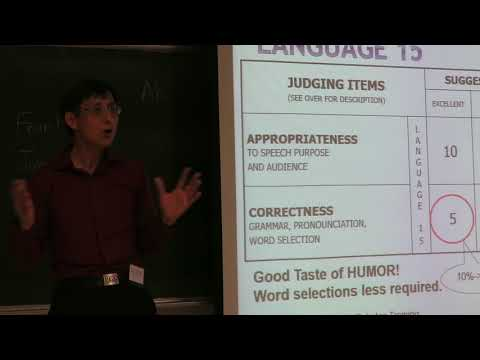 Workshop- Humorous Speech(by Kevin Lin) part 1