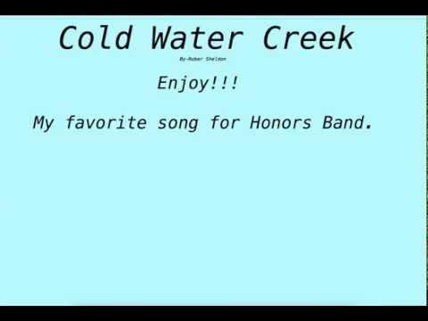 Cold Water Creek By Robert Sheldon- Ref Craft