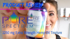 THE BEST CBD OIL | Pure Spectrum Hemp Oil Tincture