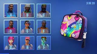 * ADIVINATE THE SKIN OF FORTNITE FOR YOUR CHALLENGE MOCHILA* FORTNITE