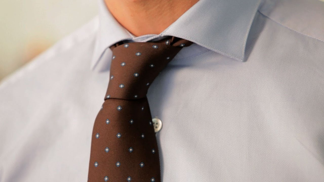 How To Tie A Half Windsor Knot Mens Fashion Youtube Tying